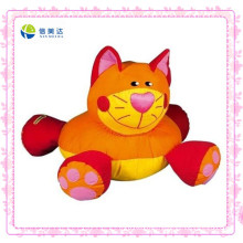 Funny Orange Cat Custom Baby Plush Toy
